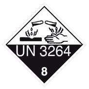 ADR etikett UN3264