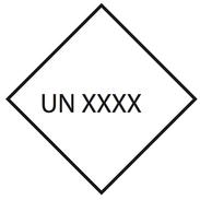 Valgfritt UN Nr. 10x10cm